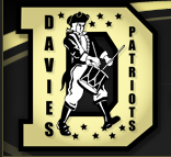 Logo for the Davies Patriots